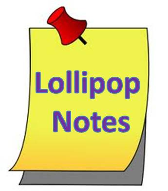 Lollipop Notes